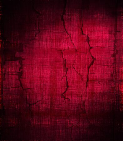 grunge red painted wall texture background photo