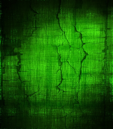 grunge green painted wall texture background Stock Photo - 14295010