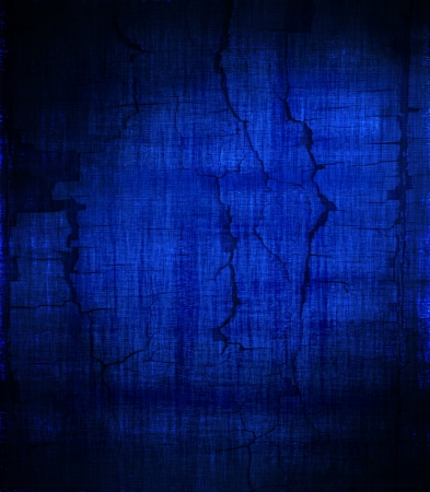 grunge blue painted wall texture background photo