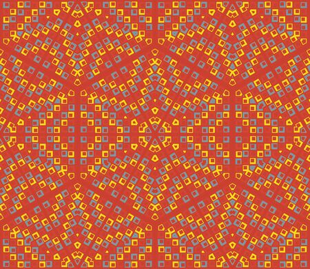 Vintage seamless abstract ornate pattern background photo
