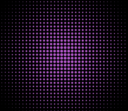 Purple lights over polka dot background photo