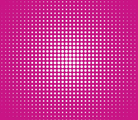 Pink lights over polka dot background photo