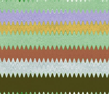 Retro Zigzag Colorful Chevron Striped Pattern photo