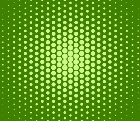 Green random polka dots abstract background photo