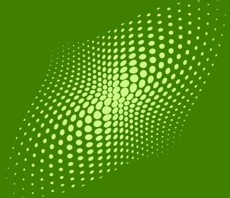 Green techno dots abstract background photo