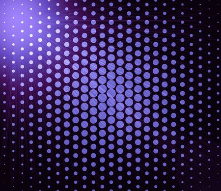 blurry lights: Bright abstract purple lights over polka dot background