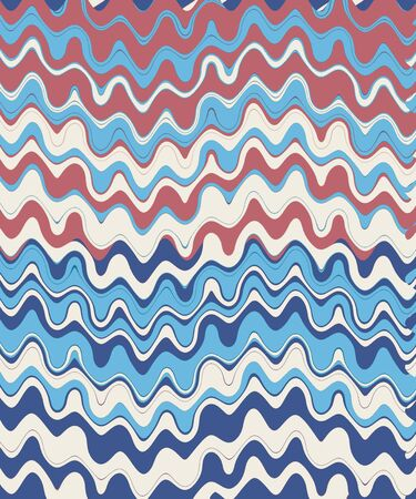 Retro Zigzag Colorful Chevron Wave Abstract Background photo
