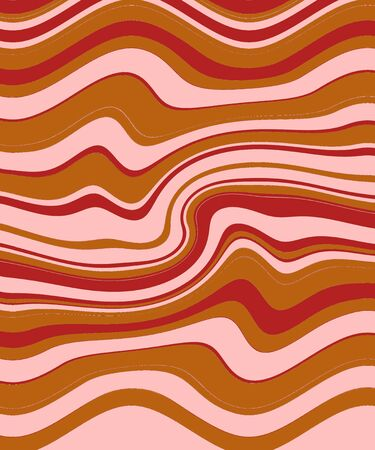 Stripe retro waves abstract background photo