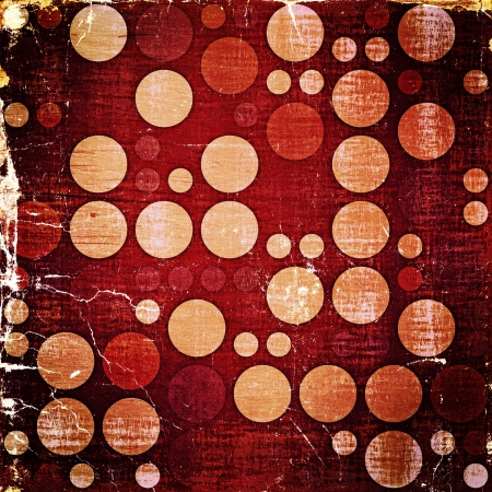 Retro Grunge Polka Dots Textures Background photo