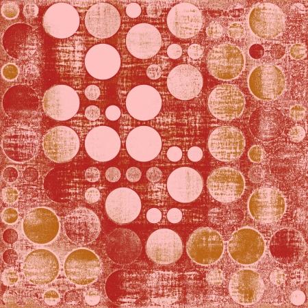 Retro Grunge Polka Dots Textures Background Stock Photo - 14511021