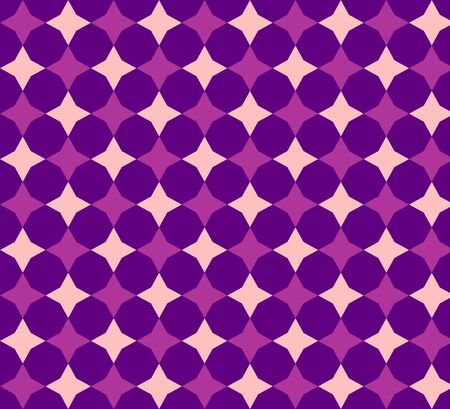 Retro diamonds polka dots seamless triangle abstract pattern photo