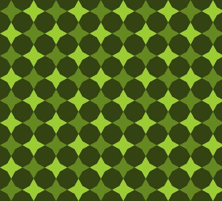 Retro diamonds polka dots seamless triangle abstract pattern photo