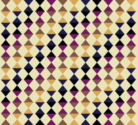 Vintage diamonds seamless triangle abstract pattern photo