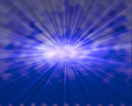 Blue star burst abstract background Stock Photo - 14529273