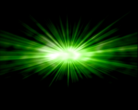Green star burst abstract background Stock Photo - 14529249
