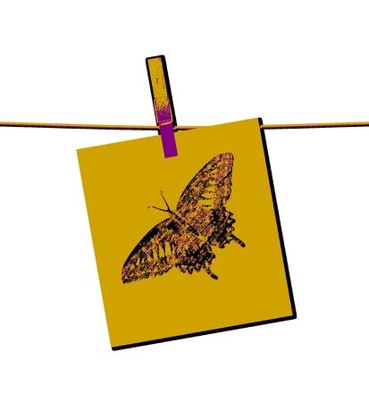 monet: Butterfly Painting Art