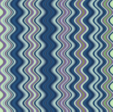 Retro colorful striped waves abstract background photo