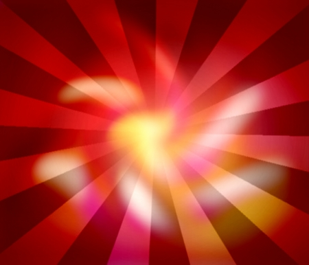 red sun ray abstract light background photo
