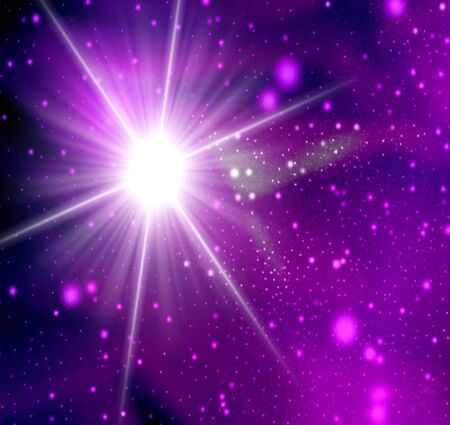 galaxy abstract light background photo
