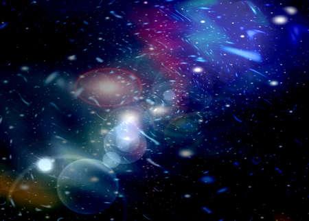 Beautiful Nebula and stars  photo
