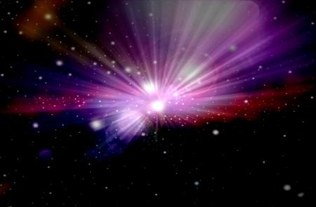 milky way galaxy: Beautiful Nebula and stars
