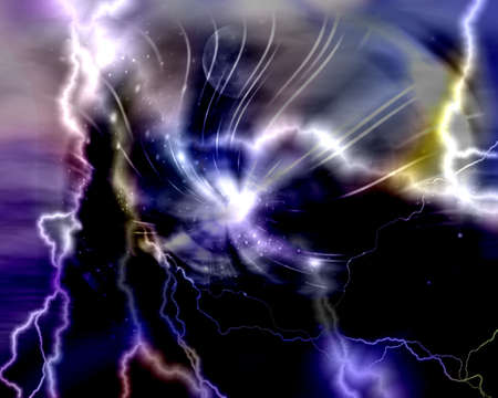 Lightning Abstract background photo