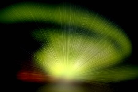 Abstract rays of light photo