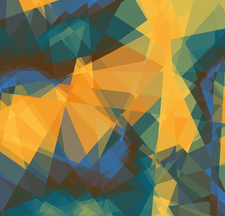 retro colored crystal abstract background for design Stock Photo - 14858796