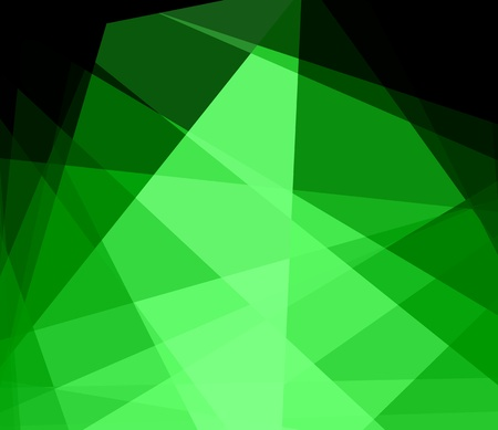 Green Crystal Abstract Background photo