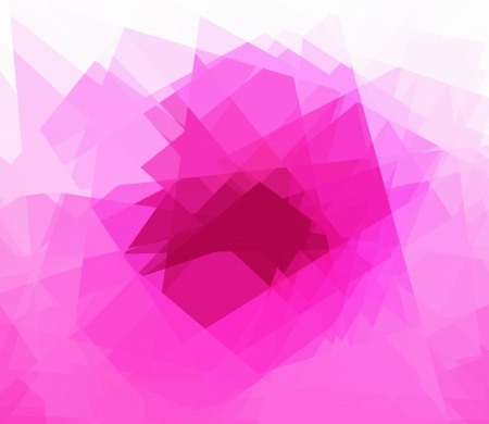 Pink cubism abstract background