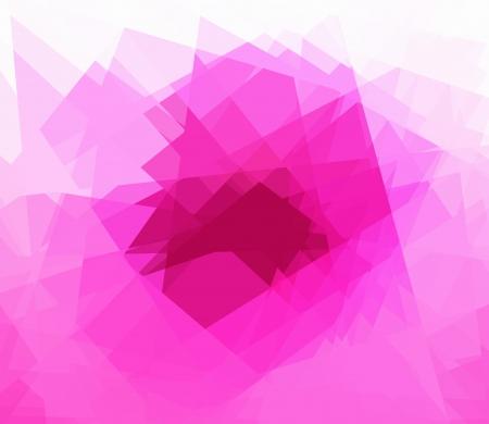 cubismo: Pink fondo cubismo abstracto