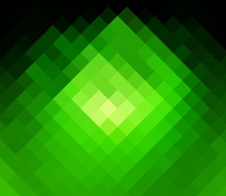 colorfuls: green diamond abstract background Stock Photo