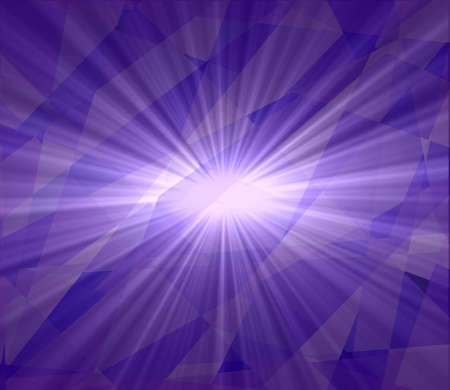 Violet star burst abstract background photo