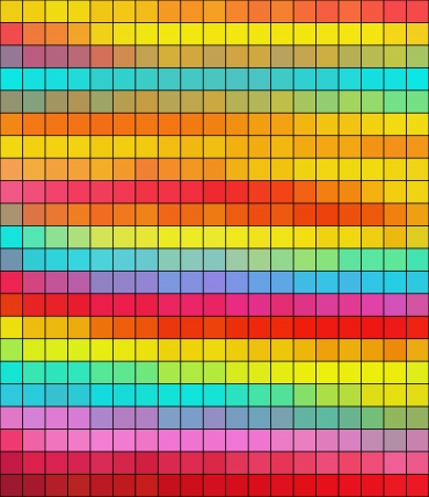 Colorful square abstract background photo
