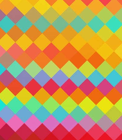 Colorful diamond abstract background Stock Photo - 14859215