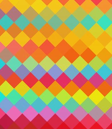 listras: Diamante colorido abstrato