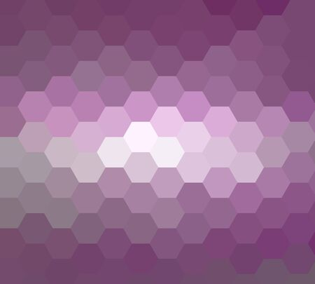 damasks: Purple hexagon abstract background