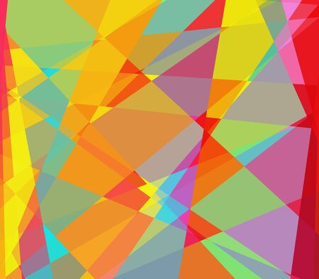 colorful cubism abstract background photo