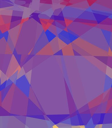 colorfuls: retro colorful cubism abstract background Stock Photo