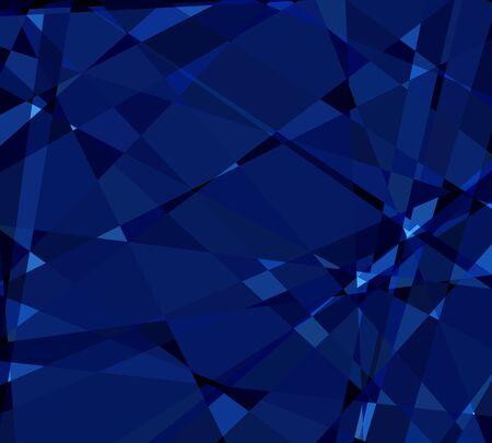 damasks: blue cubism crystal abstract background