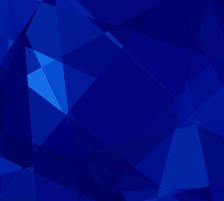 cubismo: cubismo cristal azul fondo abstracto Foto de archivo