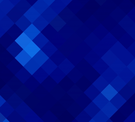 digital paint: blue seamless diamond abstract background Stock Photo