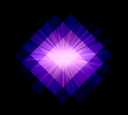 Violet seamless diamond abstract background photo