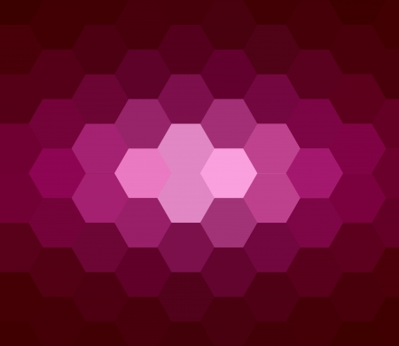 Hexagon Abstract Background Stock Photo - 14858927