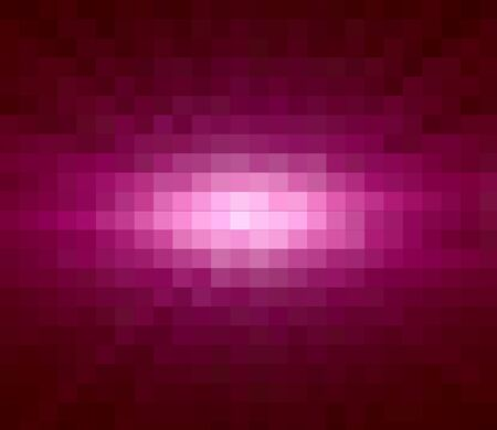 Pink Sun ray Abstract over Square Background