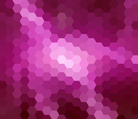 argyles: Pink Hexagon Abstract Background