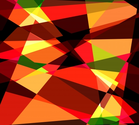 argyles: Colorful Cubism Abstract Background For Design