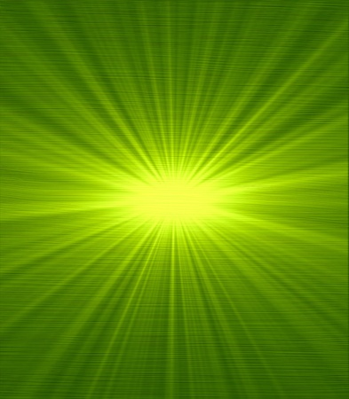 Green sunlight ray Abstract Background photo