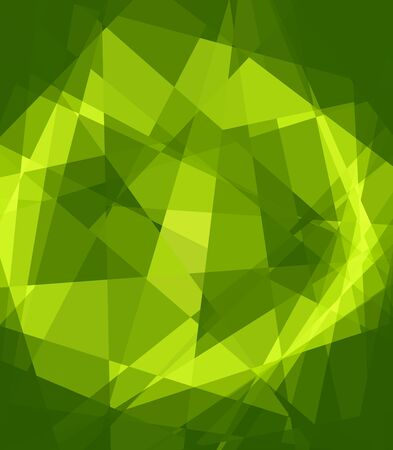 retros: Green Crystal Abstract Background Stock Photo