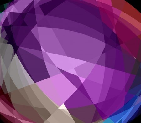 retros: Colorful Cubism Crystal Abstract Background For Design Stock Photo